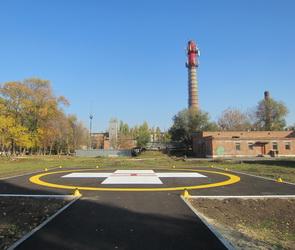 В двух больницах Воронежской области будут работать вертолетные площадки
