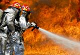 Крупный пожар в поле под Воронежем тушили более 5 часов