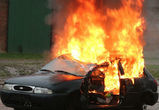 В центре Воронежа ночью сгорели три машины