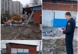 Предпринимательница из Воронежа снесла нелегальную автомастерскую