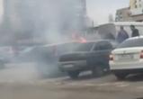 В Воронеже на улице Маршала Жукова загорелся автомобиль