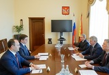 Александру Гусеву представили главу Центрально-Черноземного Росприроднадзора