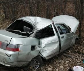 Три пассажира пострадали в ДТП вместе с пьяным водителем в Воронежской области