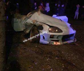 В Воронеже в ДТП погиб водитель спорткара