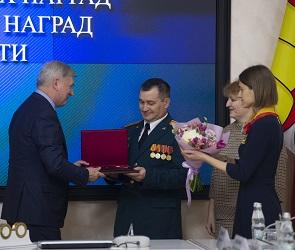 В Воронеже наградили родителей семерых детей