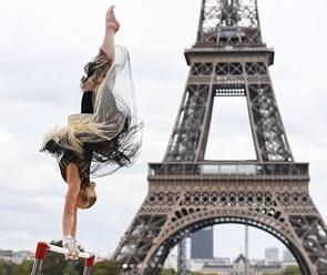 Ангелина Мельникова снялась в рекламе чемпионата Европы в Париже
