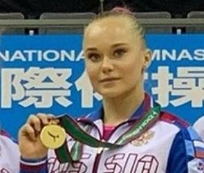 Гимнастка из Воронежа завоевала две золотых медали на турнире в Японии