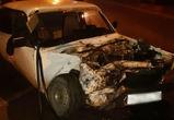 Водитель ВАЗа погиб в ночной аварии под Воронежем