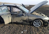 В Воронежской области перевернулась иномарка: погибли два человека