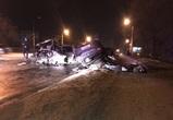 В ночной аварии в Воронеже погибли два человека