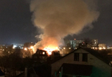 В Воронеже сгорел частный дом