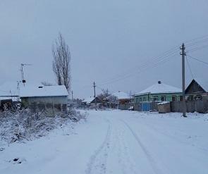 Фото заснеженного района Воронежской области появились в Сети