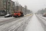 На улицы Воронежа вышла снегоуборочная техника