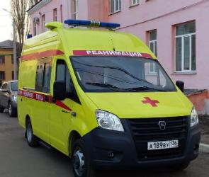 В Воронежской области для больницы купили реанимобиль за 2 млн рублей