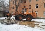 В Воронеже демонтируют незаконные постройки