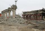 В Воронеже демонтировали очередной пролет виадука на улице 9 Января