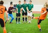 В Воронеже прошел пятый тур зимнего сезона корпоративного чемпионата по футболу