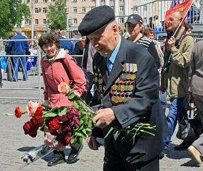 Воронежским ветеранам войны выплатят по 75 тысяч рублей ко Дню Победы