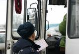 В Воронеже полицейские ловят маршутчиков-нарушителей