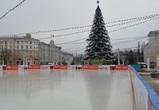 В Воронеже демонтируют катки на площади Ленина
