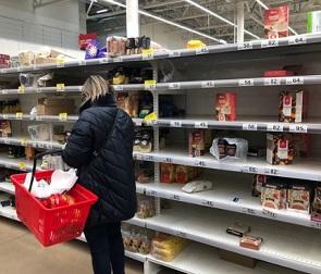 В Воронежской области создали штаб по контролю за запасами продовольствия
