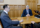 Нового гендиректора Воронежского шинного завода представили губернатору