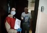 Воронежские волонтеры помогли более 200 пенсионерам и маломобильным людям