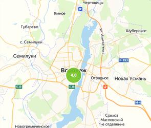 Среди городов-миллионников Воронеж оказался лидером по уровню самоизоляции