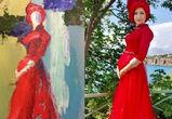 Картину воронежской художницы скосплеили в #Изоизоляции