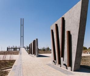 Воронежцам показали новый мемориальный комплекс «Осетровский плацдарм»