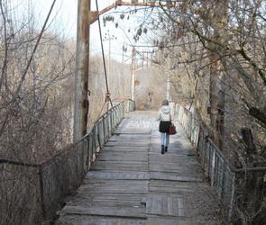 Активисты ОНФ попросили власти ускорить ремонт ветхого моста под Воронежем
