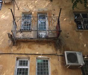 В Воронеже в обрушении балкона вместе с женщиной были виноваты коммунальщики