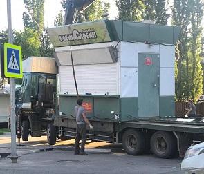 В мэрии прокомментировали ситуацию со сносом киосков «Робин Сдобин»