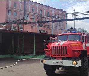 На хлебозаводе в центре Воронежа произошёл пожар
