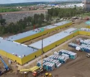 В Воронеже новую инфекционную больницу начали подключать к инженерным сетям