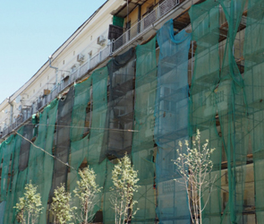 В Воронеже фасады видовых зданий около «Орленка» приведут в порядок