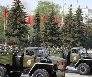 Центр Воронежа в субботу перекроют из-за генеральной репетиции парада Победы