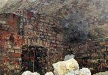 В Воронеже на Кольцовской обнаружили старинные кирпичные своды