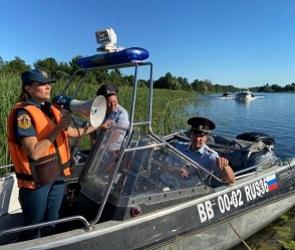 Спасатели провели масштабные рейды по водоемам Воронежской области