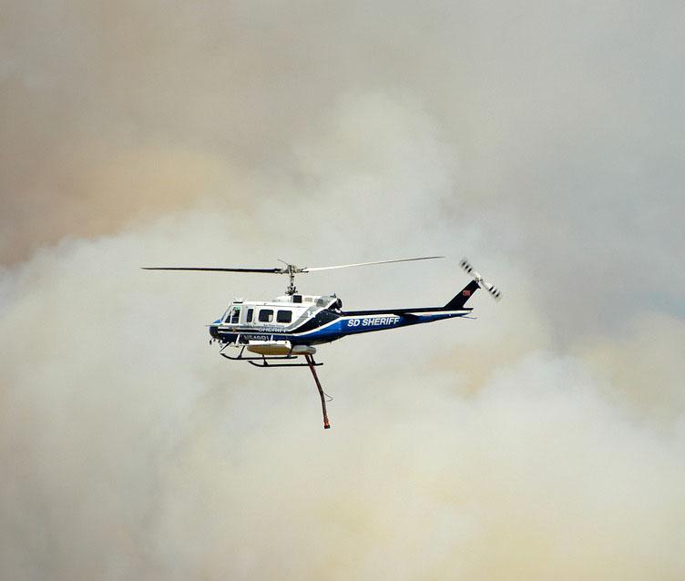 Поступило сообщение о падании вертолета под Воронежем