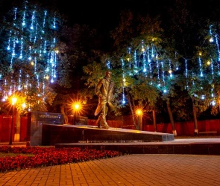 В Воронеже заработает праздничная иллюминация