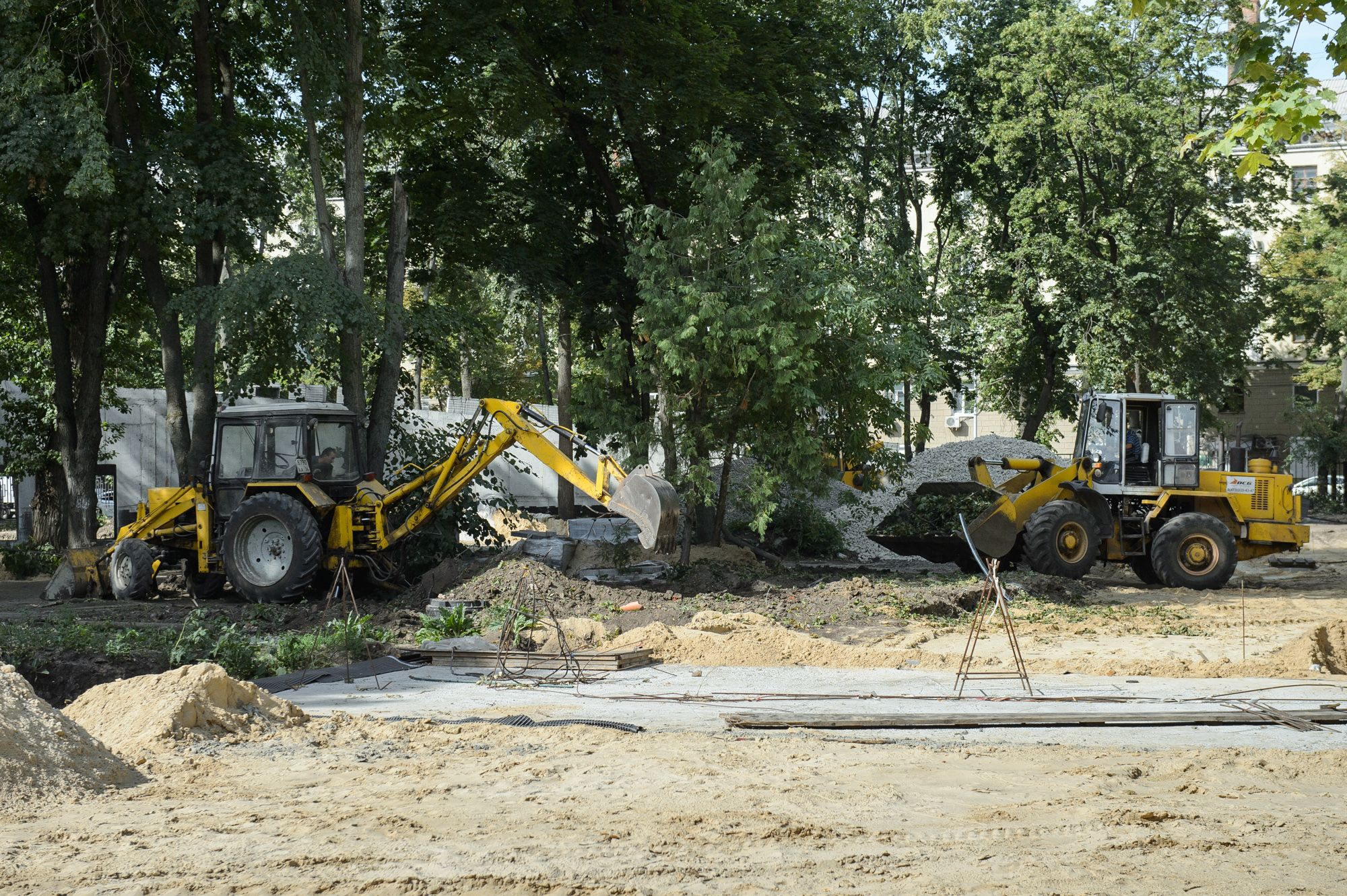 В Воронеже на благоустройство дворов и парков направят почти 4 млрд рублей