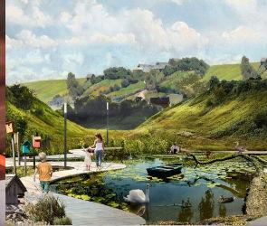 В Воронежской области нашли подрядчика для создания парка за 37 млн рублей