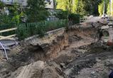 Воронежцы пожаловались на неожиданно возникшую траншею возле дома в «Тенистом»
