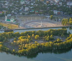 В Воронеже ищут проектировщика для создания парка «Петровский остров»