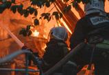 Оперативная информация от МЧС: в Советском районе Воронежа загорелся дом
