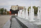Фонтан на площади Победы в Воронеже отключат на две недели