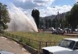 Прокуратура заинтересовалась «гейзером» на улице Переверткина в Воронеже