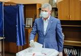 Александр Гусев проголосовал на выборах