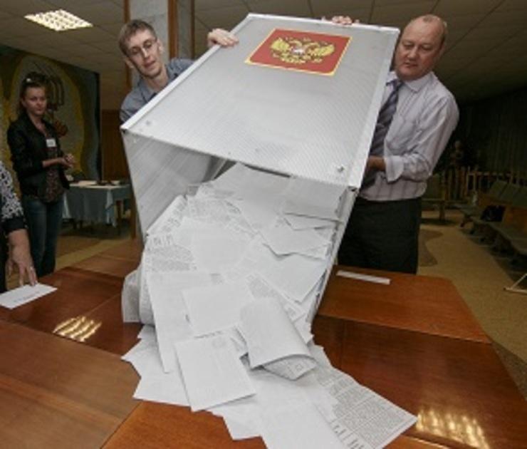 Оппозиция побеждает «Единую Россию» в четырех округах Воронежа
